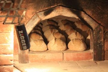 Хлеб из русской печи